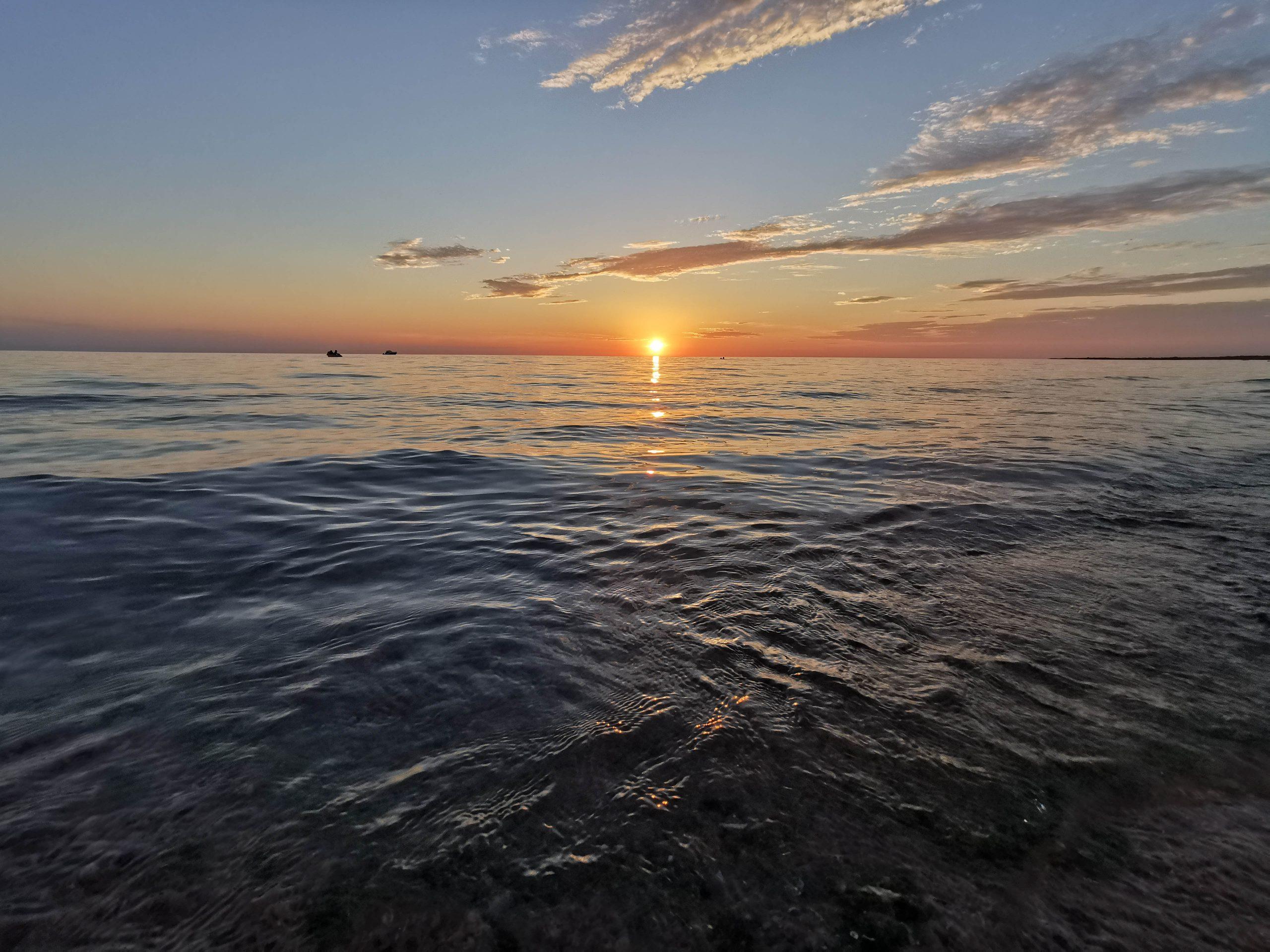 coucher de soleil sauble beach - péninsule de bruce