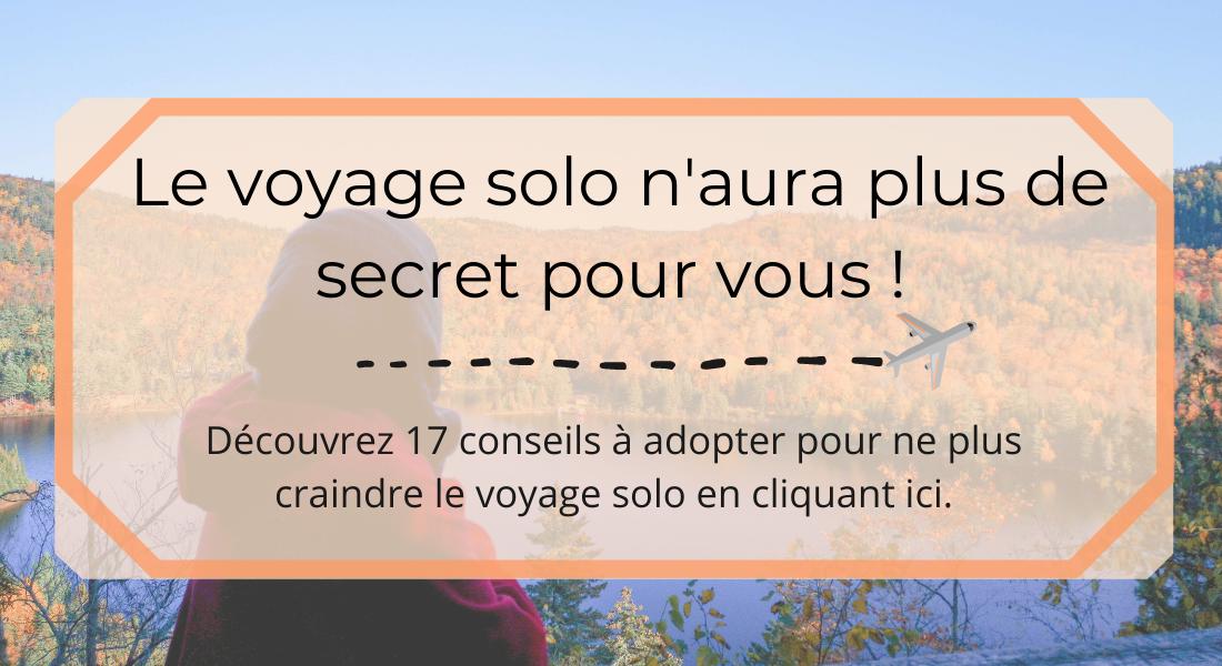 voyage solo - bannière ebook