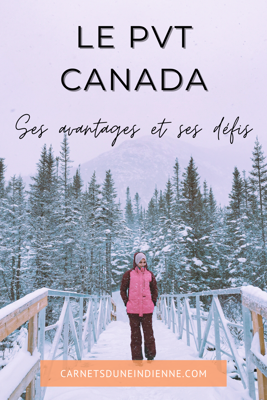Canada avec un PVT - épingle pinterest 3